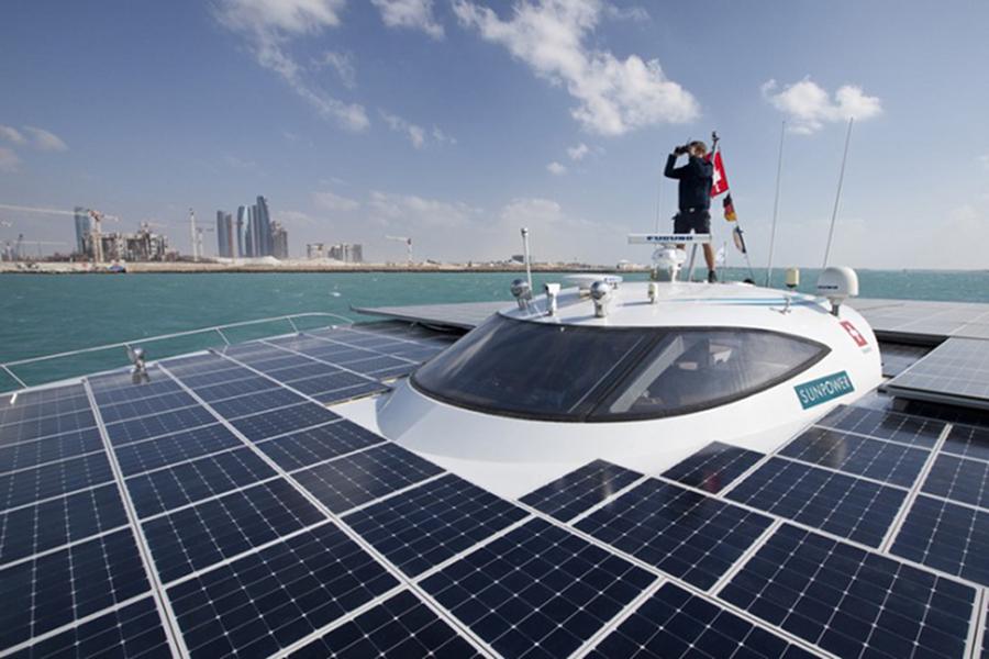 Planet Solar statek zasilany energią słoneczną