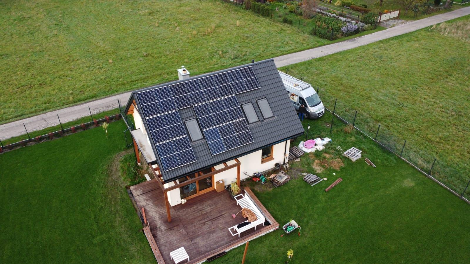 """Fotowoltaika """"Słoneczna żywiecczyzna"""": Pietrzykowice: instalacja PV o mocy 6,93 kWp"""