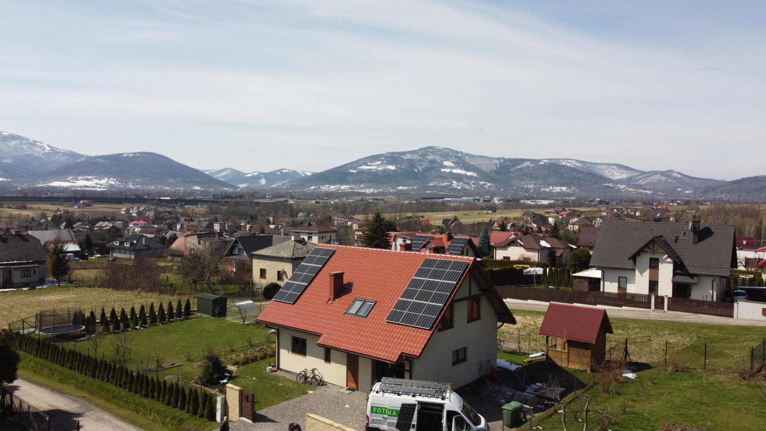 Fotowoltaika Bielsko Biała - Łodygowice - 5,32 kWp